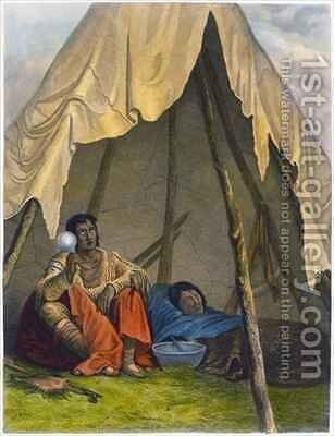 Medicine Man by (after) Eastman, Captain Seth - Reproduction Oil Painting