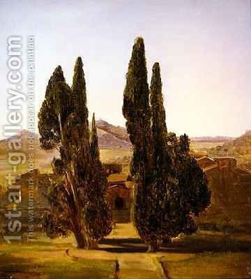 Subiaco Convent of Santa Scholastica by Sir Charles Lock Eastlake - Reproduction Oil Painting
