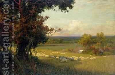 The Golden Valley by Sir Alfred East - Reproduction Oil Painting