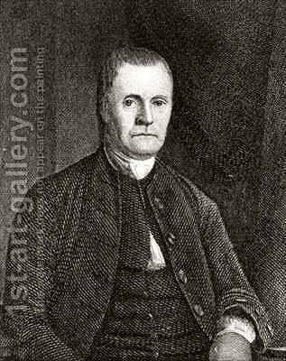 Roger Sherman by (after) Earle, James - Reproduction Oil Painting