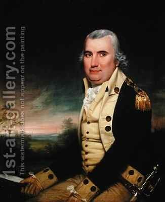 Portrait of General Charles C Pinckney by James Earle - Reproduction Oil Painting