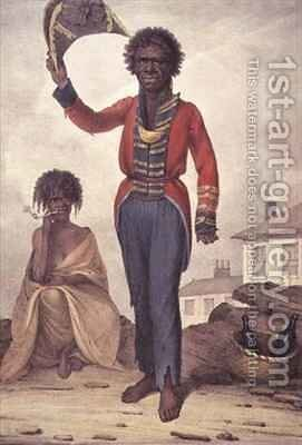 Bungaree a native chief of New South Wales by Augustus Earle - Reproduction Oil Painting