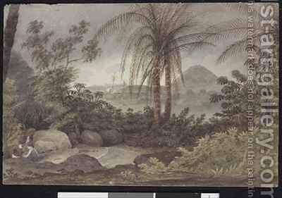 View near Rio de Janeiro by Augustus Earle - Reproduction Oil Painting