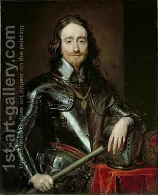 King Charles I 2 by (after) Dyck, Sir Anthony van - Reproduction Oil Painting