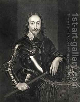 Portrait of King Charles I 1600-49 by (after) Dyck, Sir Anthony van - Reproduction Oil Painting