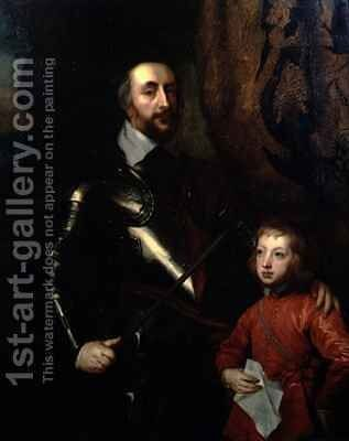 Portrait of Thomas Howard by (after) Dyck, Sir Anthony van - Reproduction Oil Painting