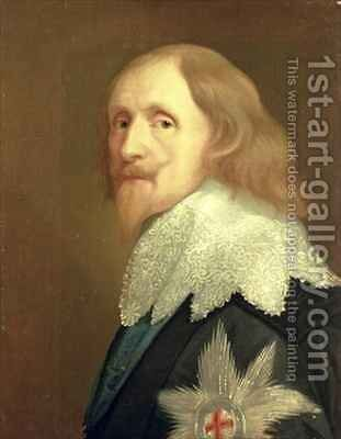 Portrait of Philip Herbert by (after) Dyck, Sir Anthony van - Reproduction Oil Painting