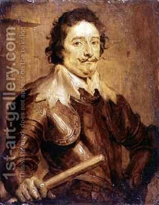 Portrait of Henry Frederick Prince of Nassau-Orange by (after) Dyck, Sir Anthony van - Reproduction Oil Painting