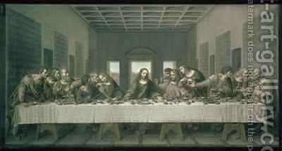 Copy of Leonardos Last Supper by Andre Dutertre - Reproduction Oil Painting
