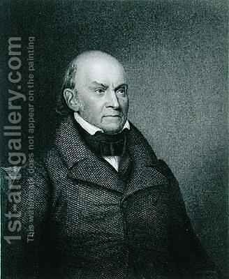 John Quincy Adams by (after) Durand, Asher Brown - Reproduction Oil Painting