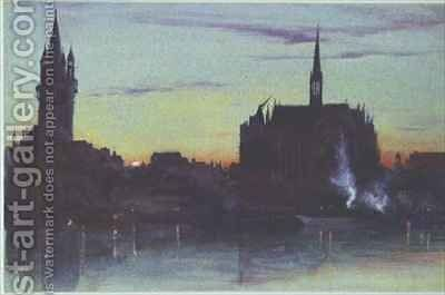 Cologne by Ada Dundas - Reproduction Oil Painting