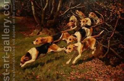 On the Scent by Alfred Duke - Reproduction Oil Painting