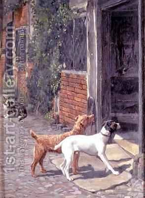 Hesitation by Alfred Duke - Reproduction Oil Painting