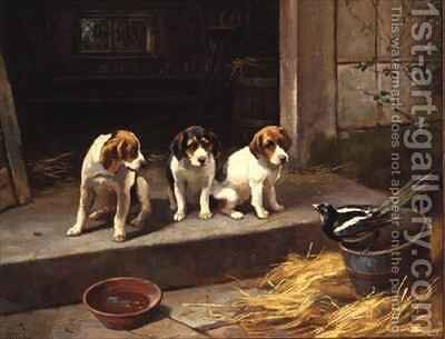 The Uninvited Guest by Alfred Duke - Reproduction Oil Painting