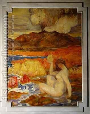 Geology by Clementine-Helene Dufau - Reproduction Oil Painting