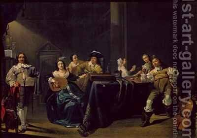 Merry Company by Jacob Duck - Reproduction Oil Painting