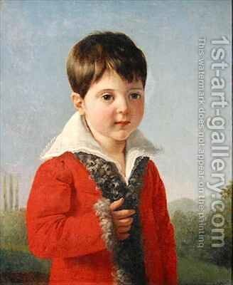 Charles Morin by Claude-Marie Dubufe - Reproduction Oil Painting