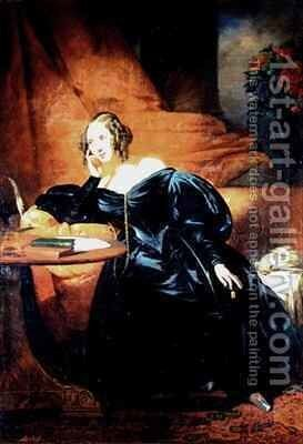 The Countess de Lapeyriere by Claude-Marie Dubufe - Reproduction Oil Painting