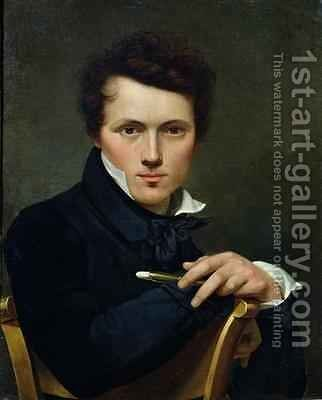 Self Portrait by Claude-Marie Dubufe - Reproduction Oil Painting