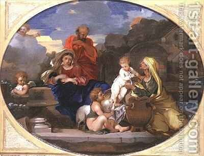 The Holy Family by Jean Dubois - Reproduction Oil Painting