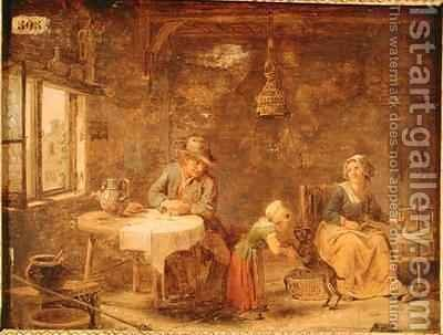 Interior by Martin Drolling - Reproduction Oil Painting