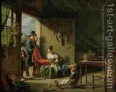 The Pedlar by Martin Drolling - Reproduction Oil Painting