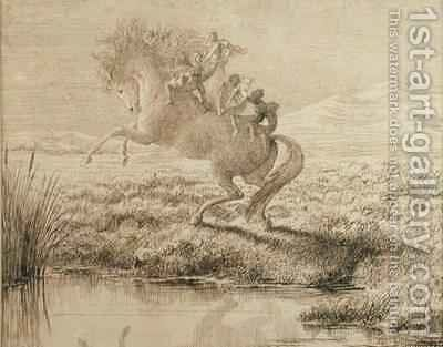 The Escape by Charles Altamont Doyle - Reproduction Oil Painting