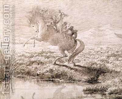 The Escape 2 by Charles Altamont Doyle - Reproduction Oil Painting