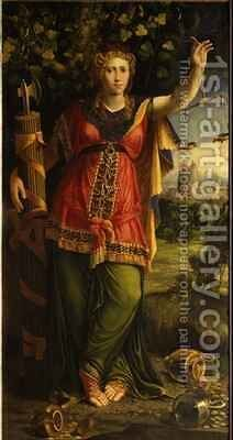 Justice by Battista Dossi - Reproduction Oil Painting