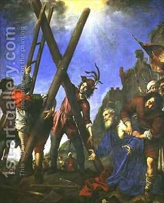 The Martyrdom of St Andrew by Carlo Dolci - Reproduction Oil Painting