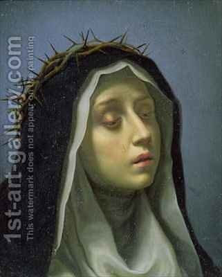 St Catherine of Siena by Carlo Dolci - Reproduction Oil Painting