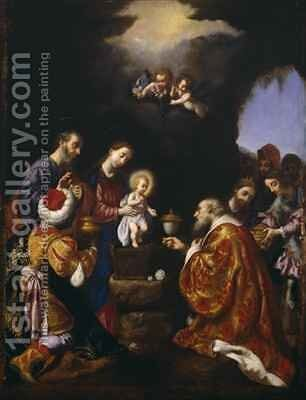 The Adoration of the Magi by Carlo Dolci - Reproduction Oil Painting