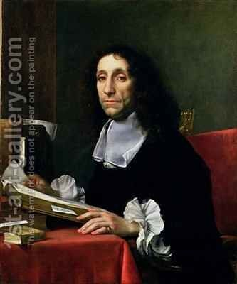 Portrait of Sir Thomas Baines 1622-80 by Carlo Dolci - Reproduction Oil Painting
