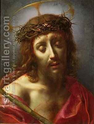 Christ as the Man of Sorrows by Carlo Dolci - Reproduction Oil Painting
