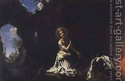 St Dominic Penitent by Carlo Dolci - Reproduction Oil Painting