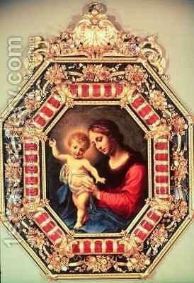Madonna and Child by Carlo Dolci - Reproduction Oil Painting