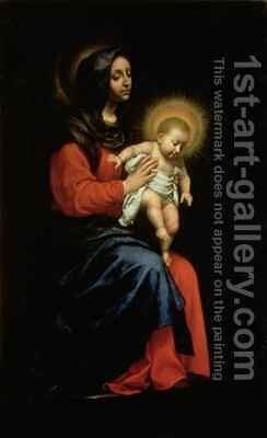 Madonna and Child 2 by Carlo Dolci - Reproduction Oil Painting
