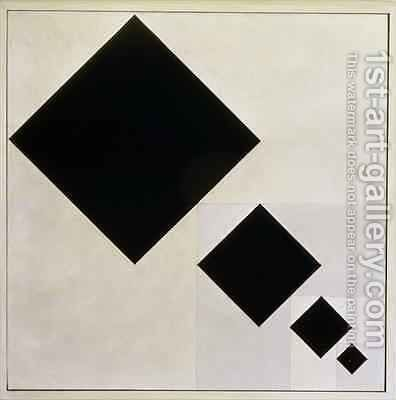 Arithmetic composition by Theo van Doesburg - Reproduction Oil Painting