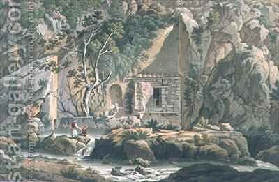 The Kastalian Spring by (after) Dodwell, Edward - Reproduction Oil Painting