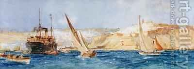 Tangier by Charles Edward Dixon - Reproduction Oil Painting