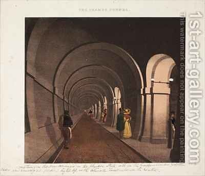 The Thames Tunnel by (after) Dixie, B. - Reproduction Oil Painting