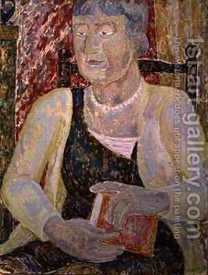 Portrait of Mrs Ody by Jessica Stewart Dismorr - Reproduction Oil Painting