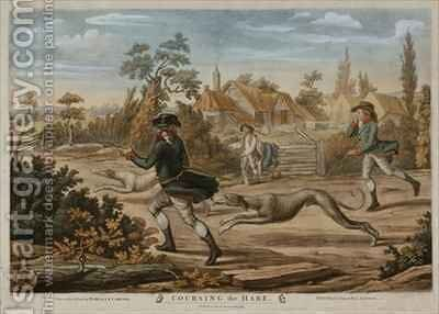 Coursing the Hare by (after) Dighton, Richard - Reproduction Oil Painting
