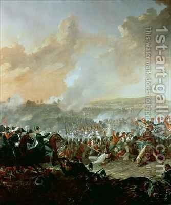 The Battle of Waterloo 2 by Denis Dighton - Reproduction Oil Painting