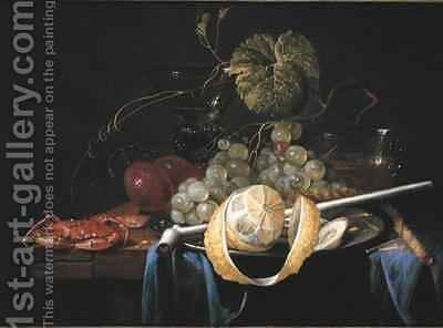 Still Life by Guilliam van Deynum - Reproduction Oil Painting
