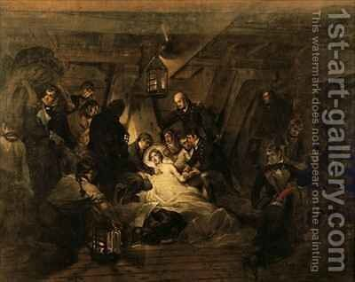 The Death of Nelson by Arthur William Devis - Reproduction Oil Painting