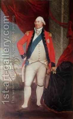 Charles Marquis of Cornwallis Governor General in India by Arthur William Devis - Reproduction Oil Painting