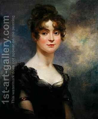 Portrait of Harriet Leonard Bull by Arthur William Devis - Reproduction Oil Painting