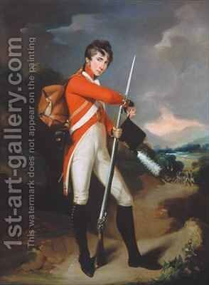 Grenadier of a Volunteer Regiment by Arthur William Devis - Reproduction Oil Painting