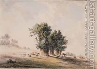 Landscape by Anthony Devis - Reproduction Oil Painting